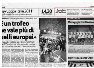 Dall'Arena del 22/01/2011