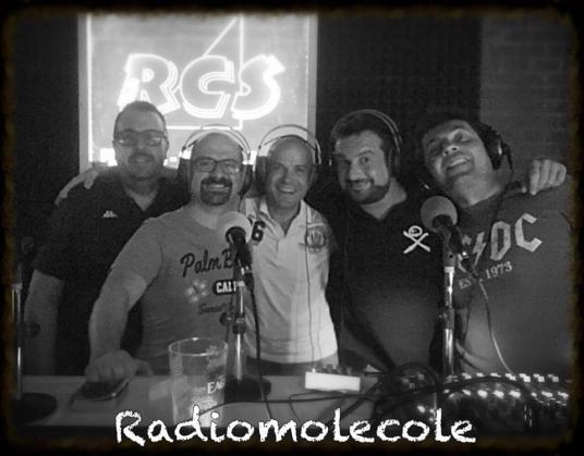 STAFF RADIOMOLECOLE: CARLO, YALE, L'ORSSEVATORE ROMANO PERABOY & JOVANZ D.J.